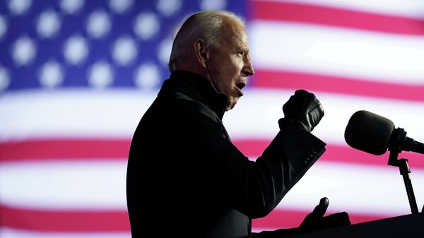 Кандидат в президенты США Джо Байден