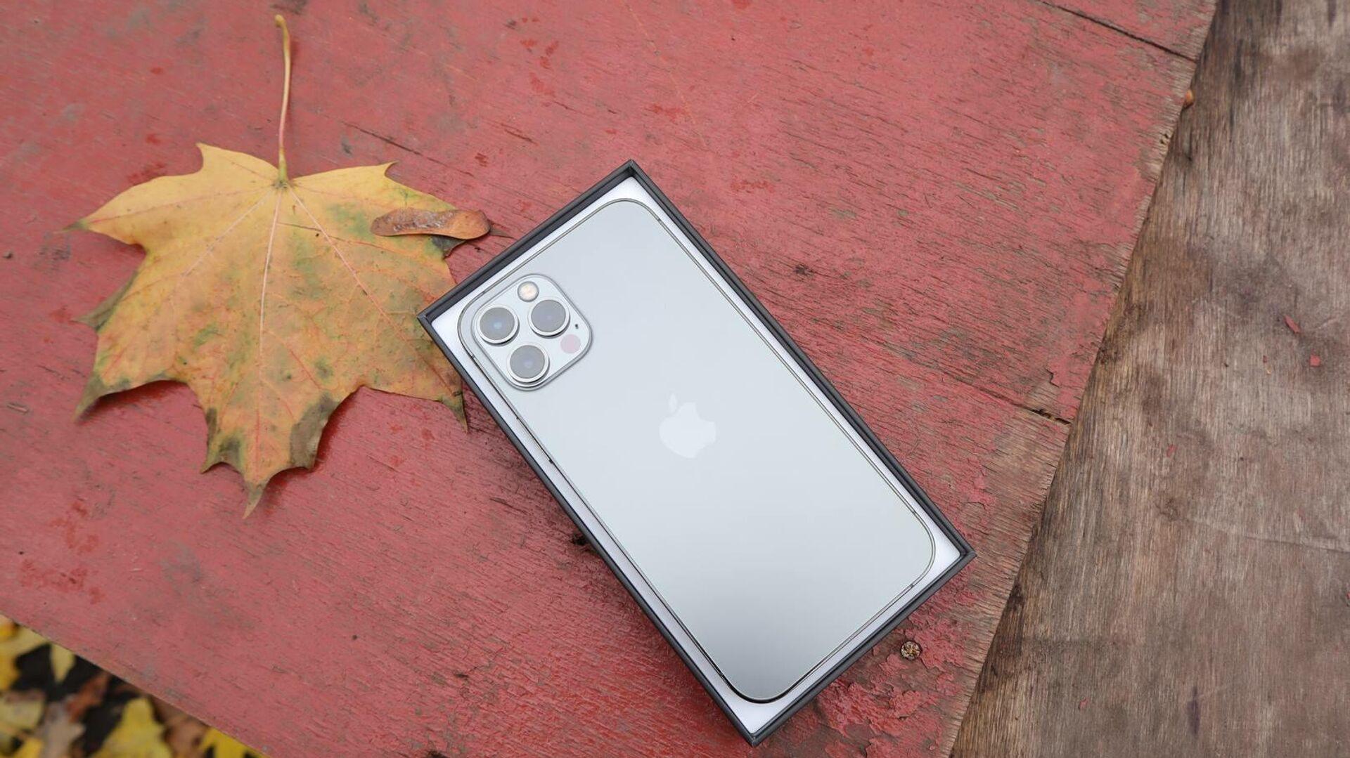 iPhone 12 4 - РИА Новости, 1920, 01.12.2020