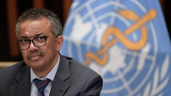 Генеральный директор Всемирной организации здравоохранения Тедрос Аданом Гебреисус