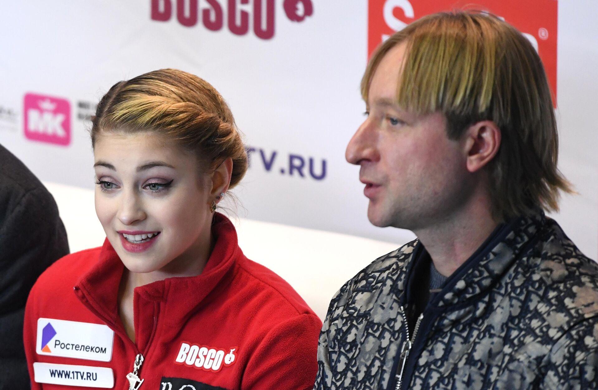 Алена Косторная и Евгений Плющенко - РИА Новости, 1920, 09.11.2020