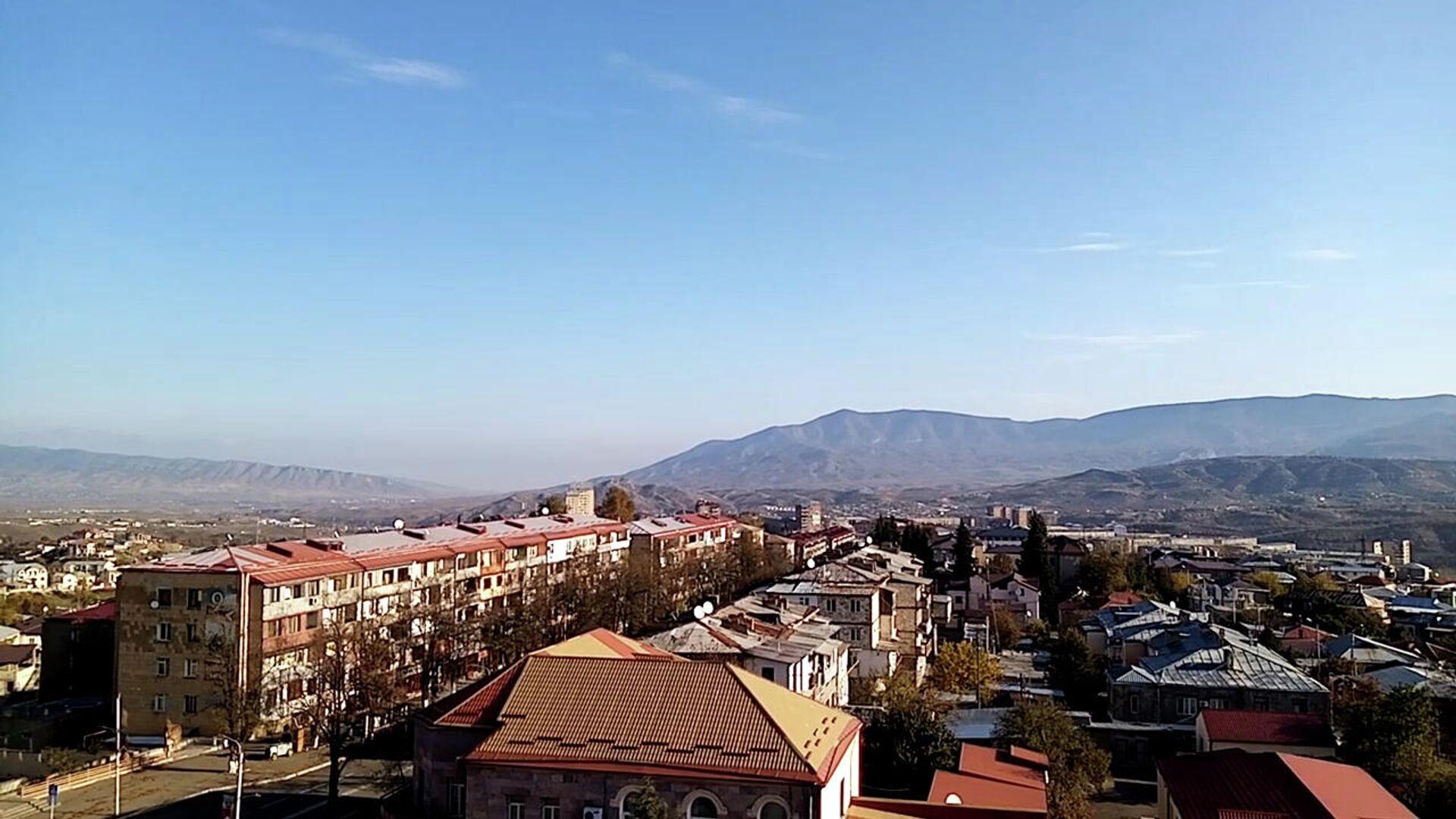 Город Степанакерт утром 10 ноября 2020 года - РИА Новости, 1920, 10.11.2020