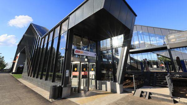 Открытие станции Новодачная МЦД-1 после реконструкции
