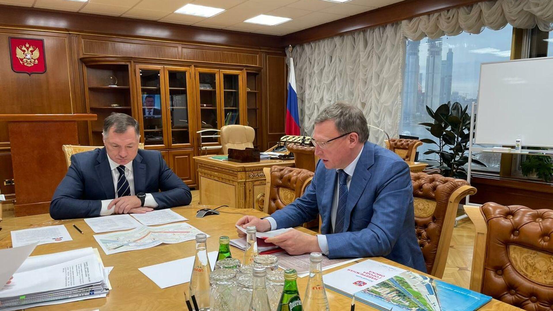 Хуснуллин высоко оценил исполнение дорожного нацпроекта в Омской области