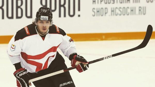 Хоккеист Никита Щербак