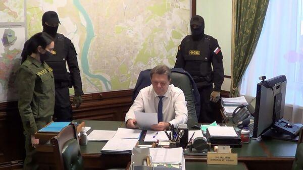 Задержание мэра Томска Ивана Кляйна