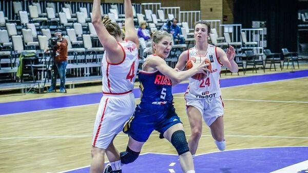Баскетболистка сборной России Марина Голдырева