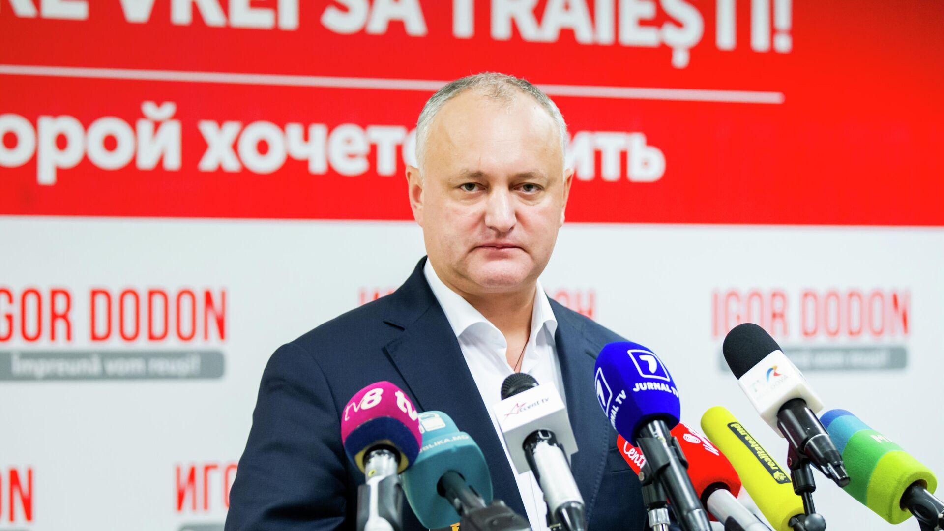 Додон призвал не возвращать гражданство Молдавии экс-президенту Румынии