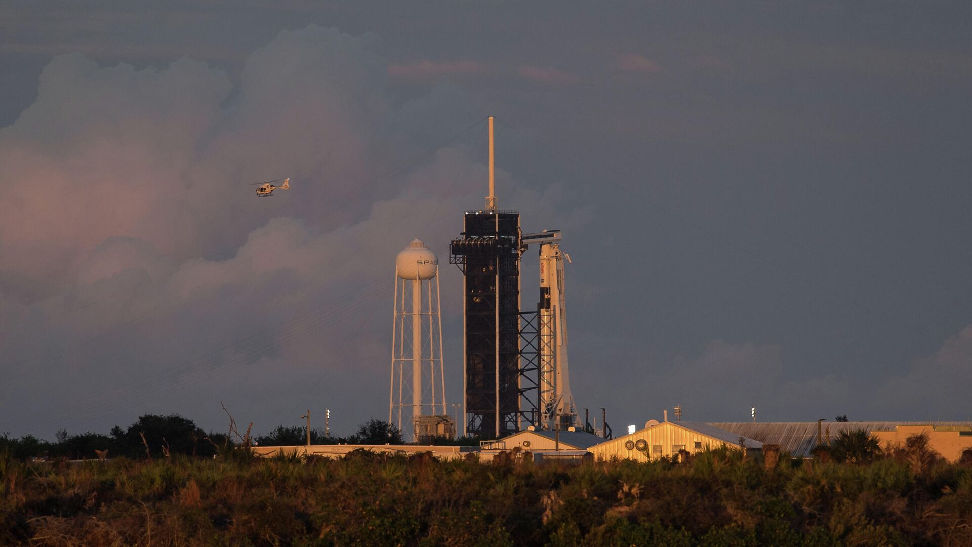 Ракета Falcon 9 стартовала во Флориде с группой спутников Starlink