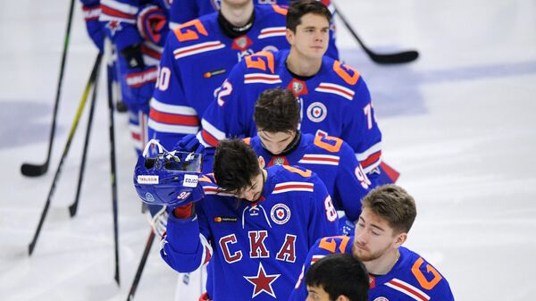 Хоккей. КХЛ. Матч СКА – Авангард