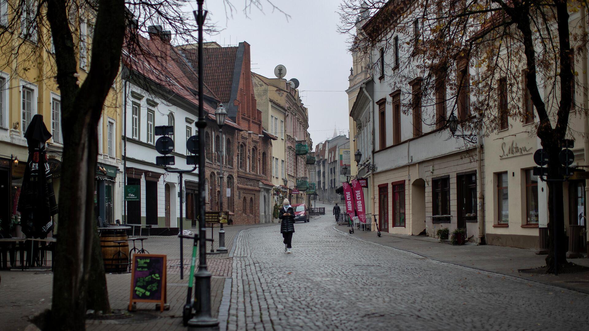В Литве продлили карантин из-за коронавируса до конца года
