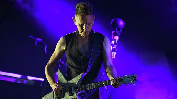 Участник британской группы Depeche Mode Мартин Гор