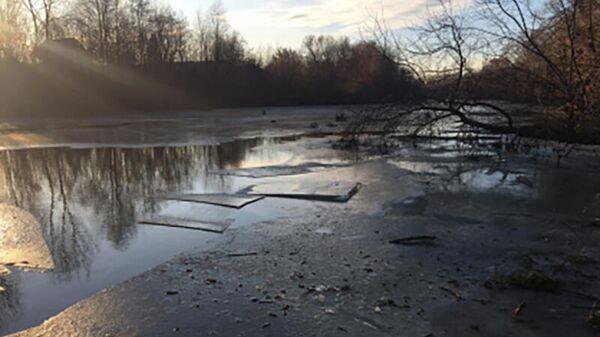 Река Пензятка, в которой утонул мальчик