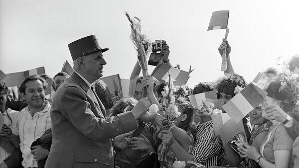 Визит Президента Франции Шарля де Голля в СССР. Июнь 1966 год