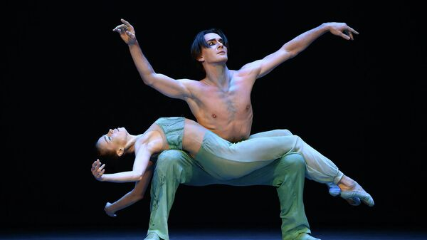 Сцена из балета Девятый вал