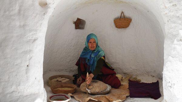 Жительница города Матмата в Тунисе