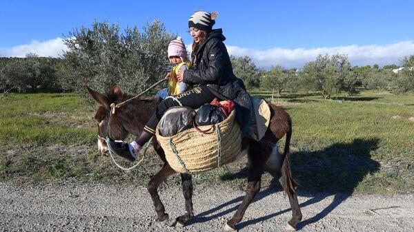 Берберы в деревне Кесра