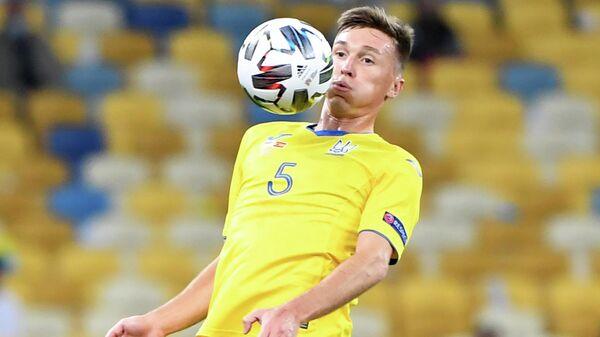 Полузащитник сборной Украины Сергей Сидорчук
