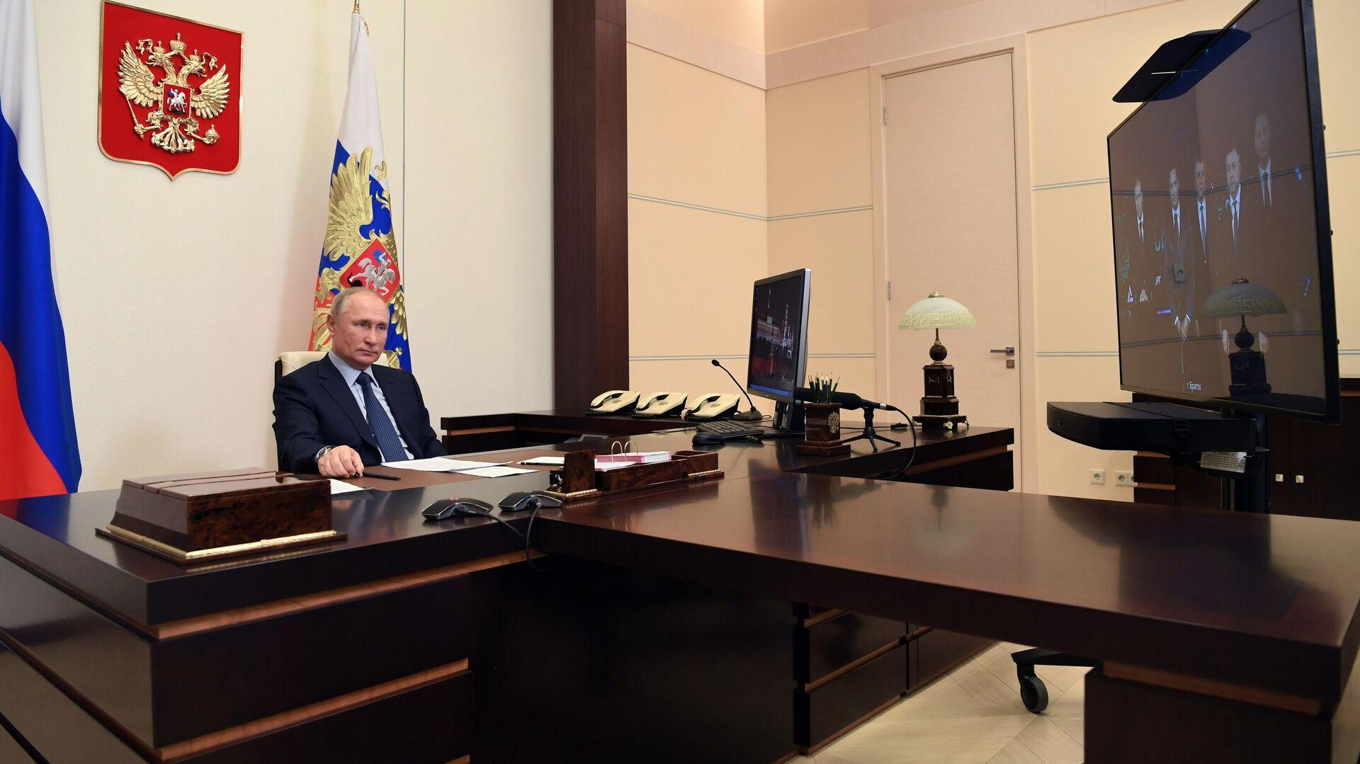 Путин примет участие в конференции Совбеза ООН по морской безопасности