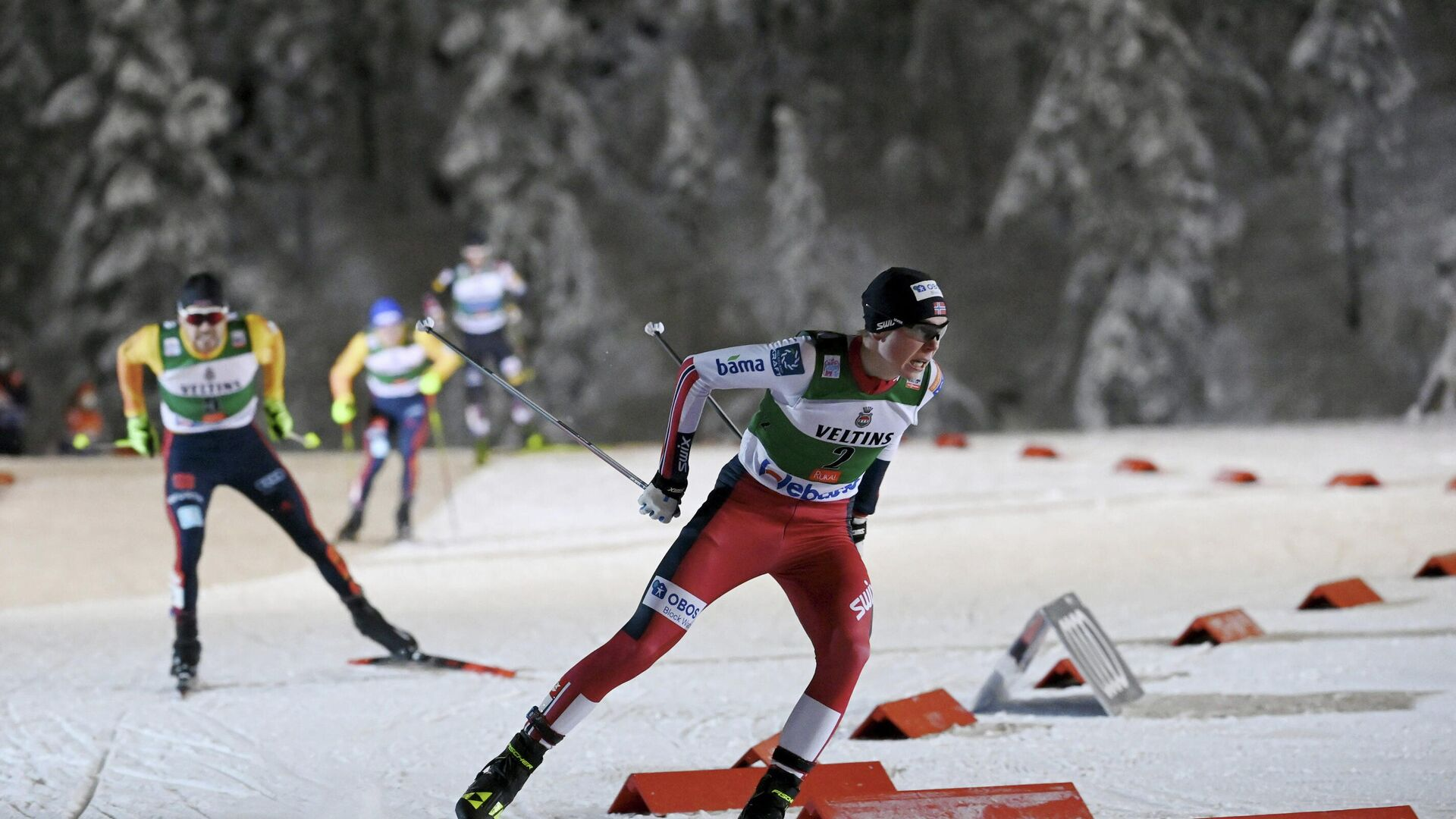Норвежский лыжник Енс Лурос Офтебру - РИА Новости, 1920, 01.12.2020