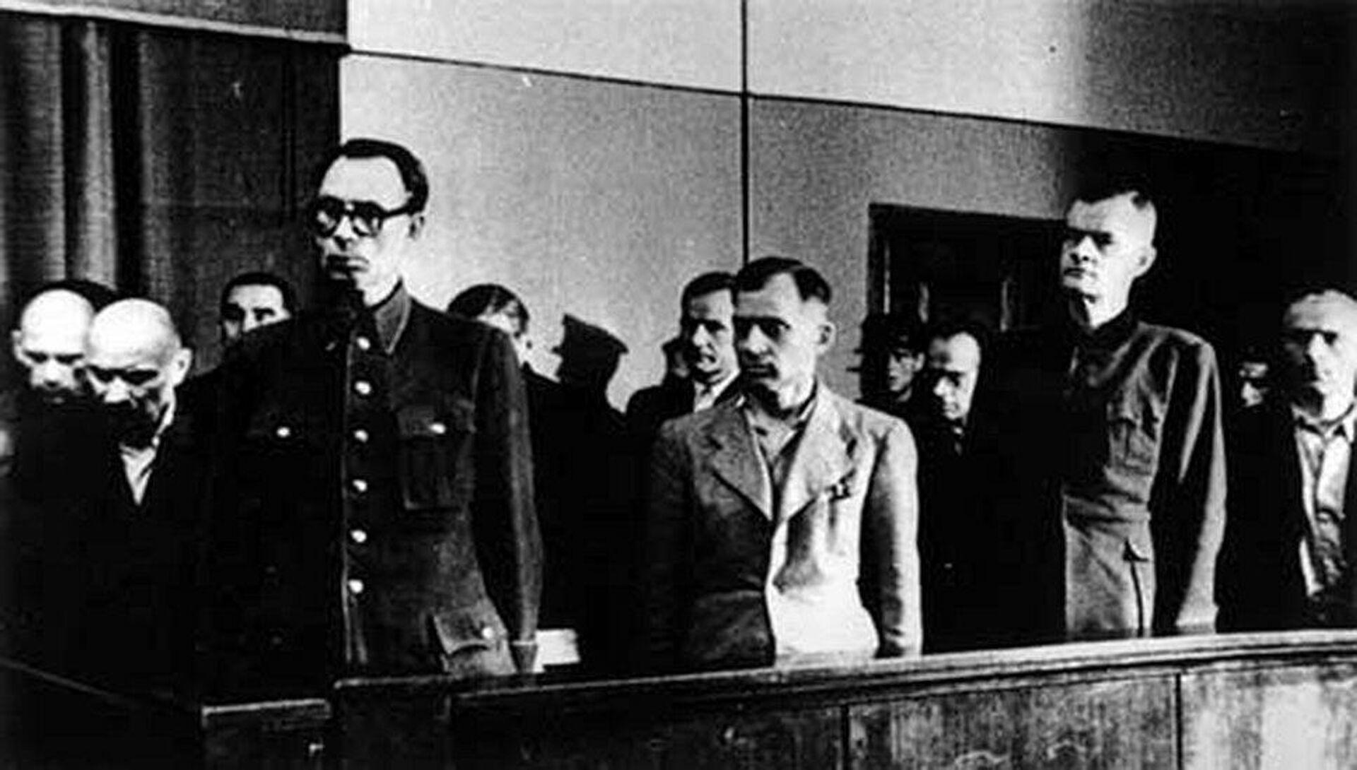Суд над генералом Власовым - РИА Новости, 1920, 04.12.2020