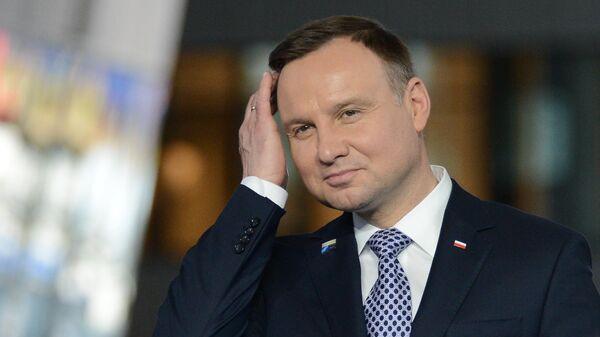 Президент Польши не удержался от антироссийской риторики