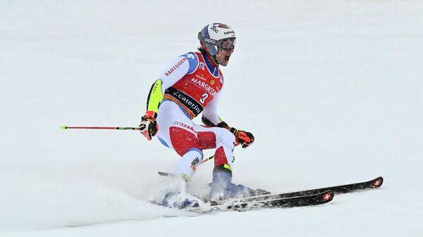 Швейцарский горнолыжник Марко Одерматт