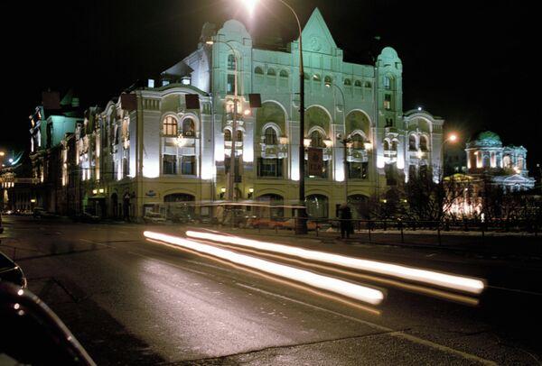 Здание Политехнического музея на Новой площади в Москве