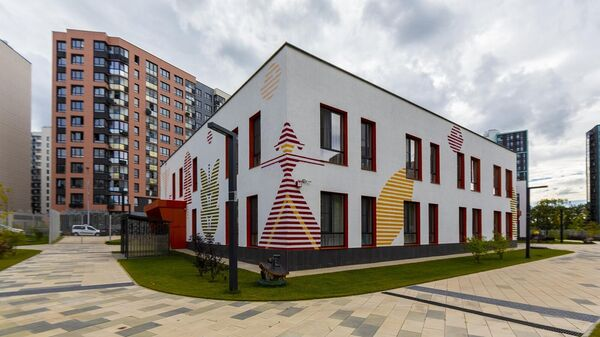 Детский сад Волшебная долина на 220 мест в поселке Коммунарка