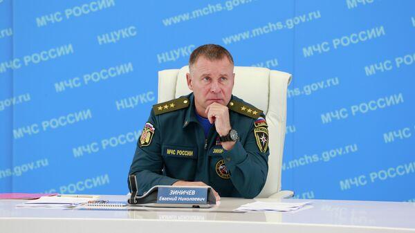 Министр Российской Федерации по делам гражданской обороны, чрезвычайным ситуациям и ликвидации последствий стихийных бедствий Евгений Зиничев
