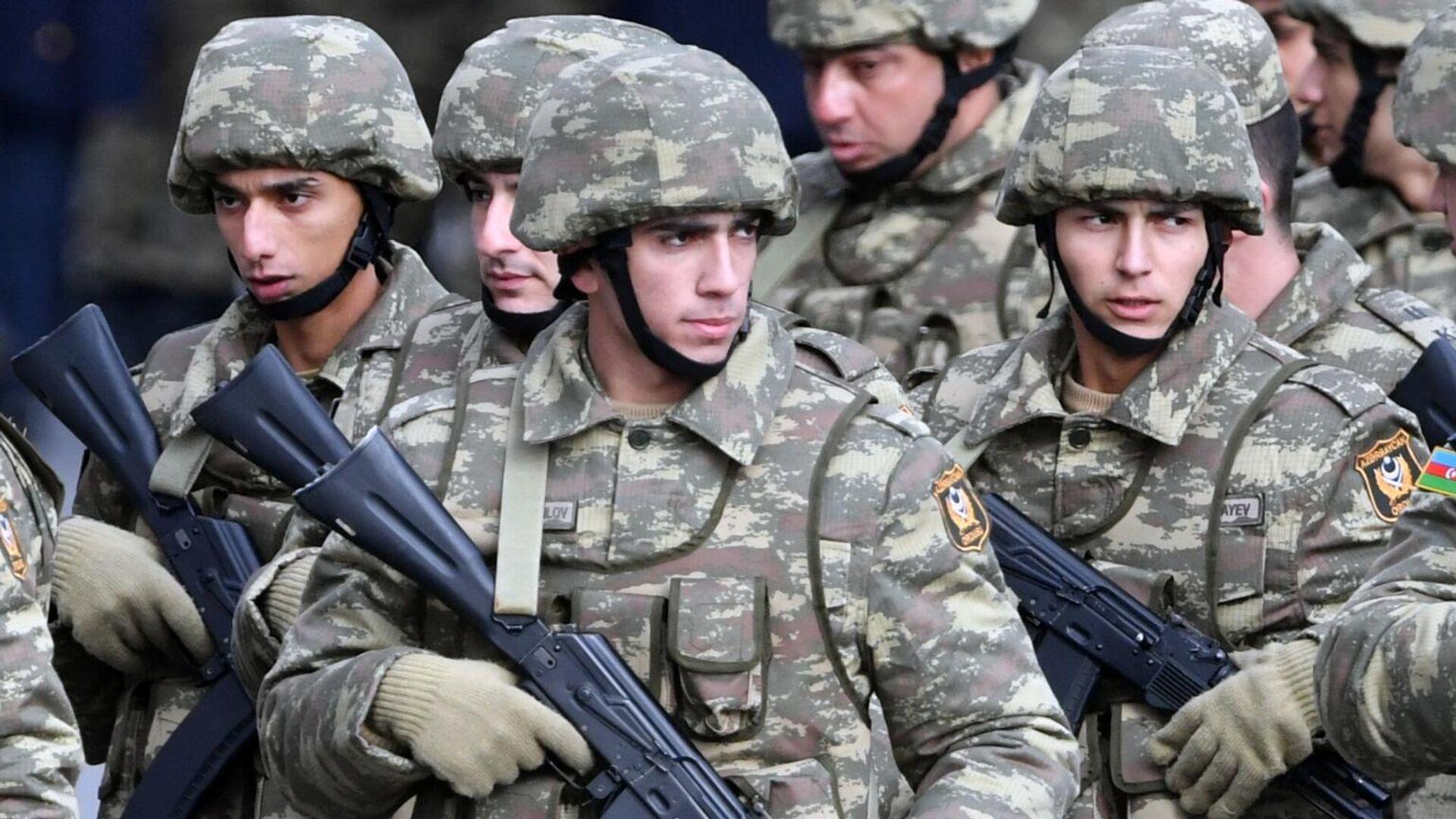 С иностранными гостями: в Баку начался парад в честь победы в Карабахе