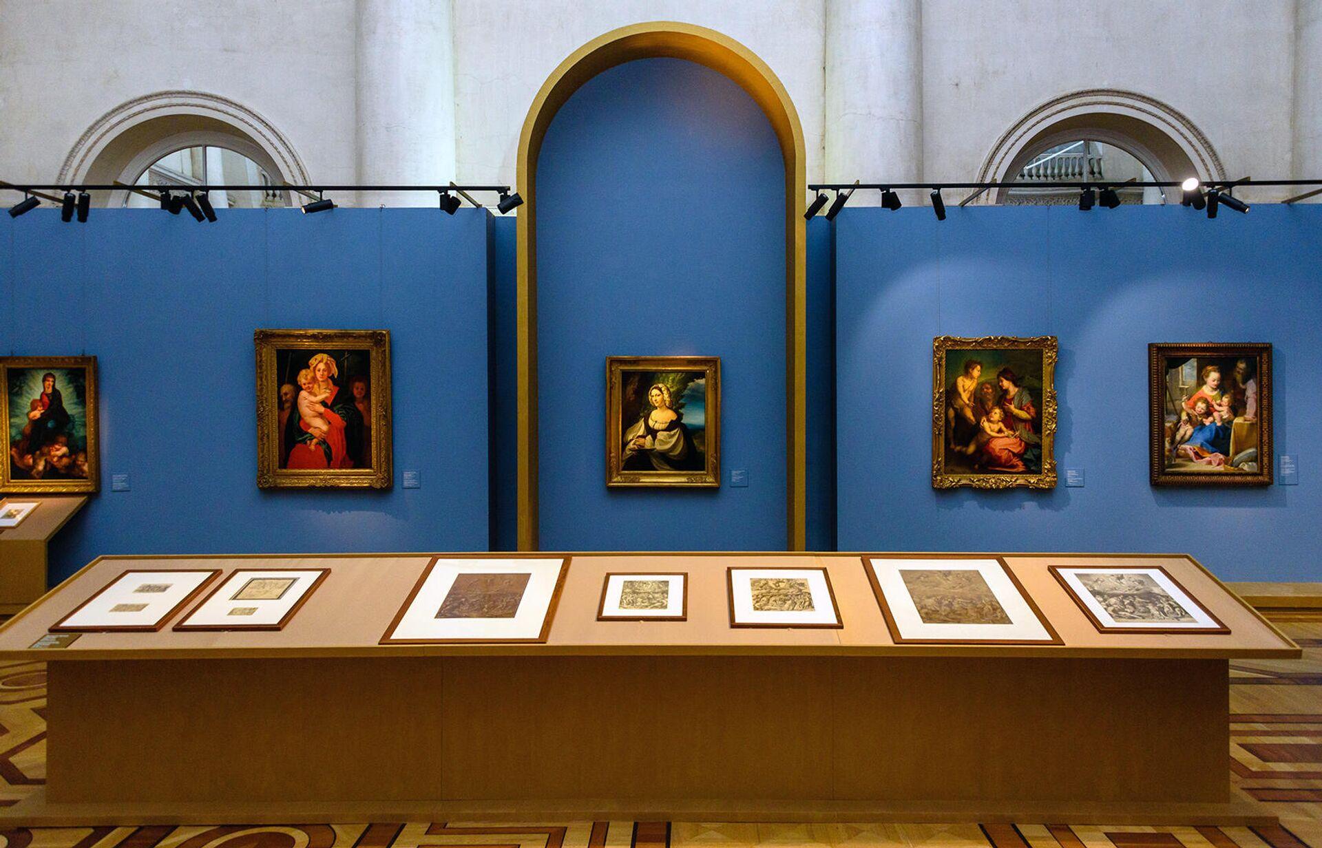 Открытие выставки Линия Рафаэля. 1520-2020 - РИА Новости, 1920, 10.12.2020