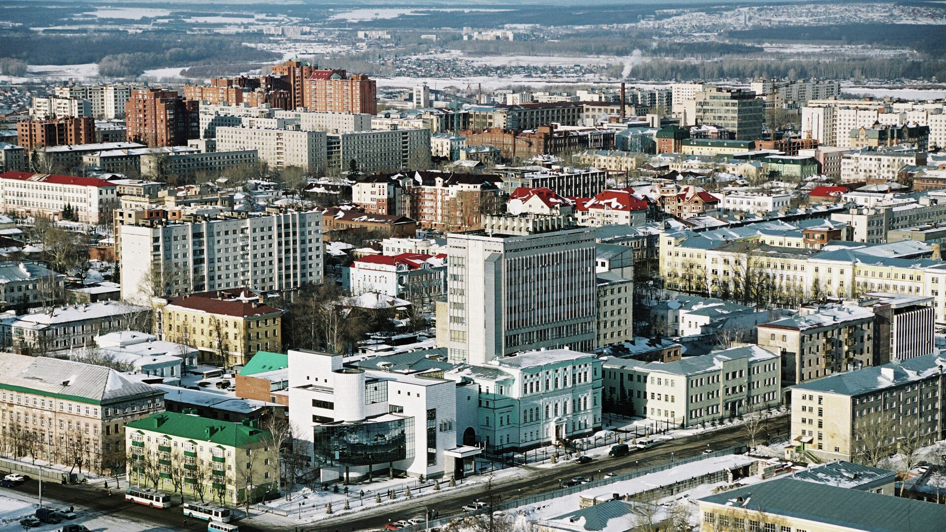 Здание Национального банка Республики Башкортостан в Уфе - РИА Новости, 1920, 02.02.2021
