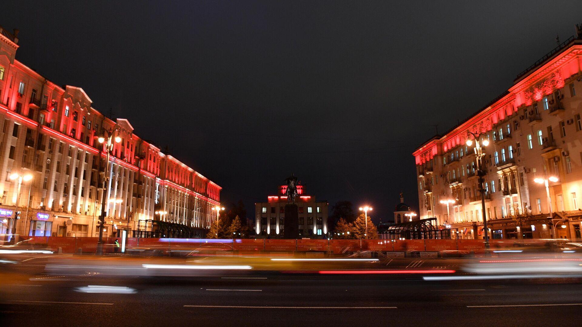 Тверская улица в в Москве - РИА Новости, 1920, 13.12.2020