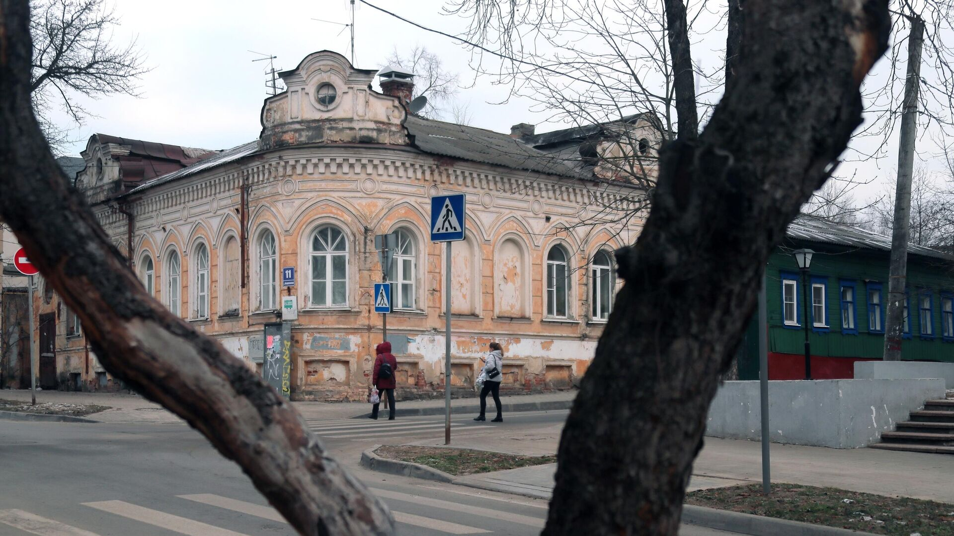Дом Гончаровой на улице Воскресенской в Калуге - РИА Новости, 1920, 22.07.2021