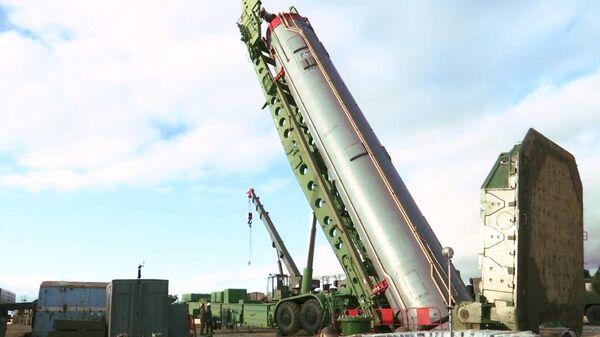Межконтинентальная баллистическая ракета ракетного комплекса стратегического назначения Авангард