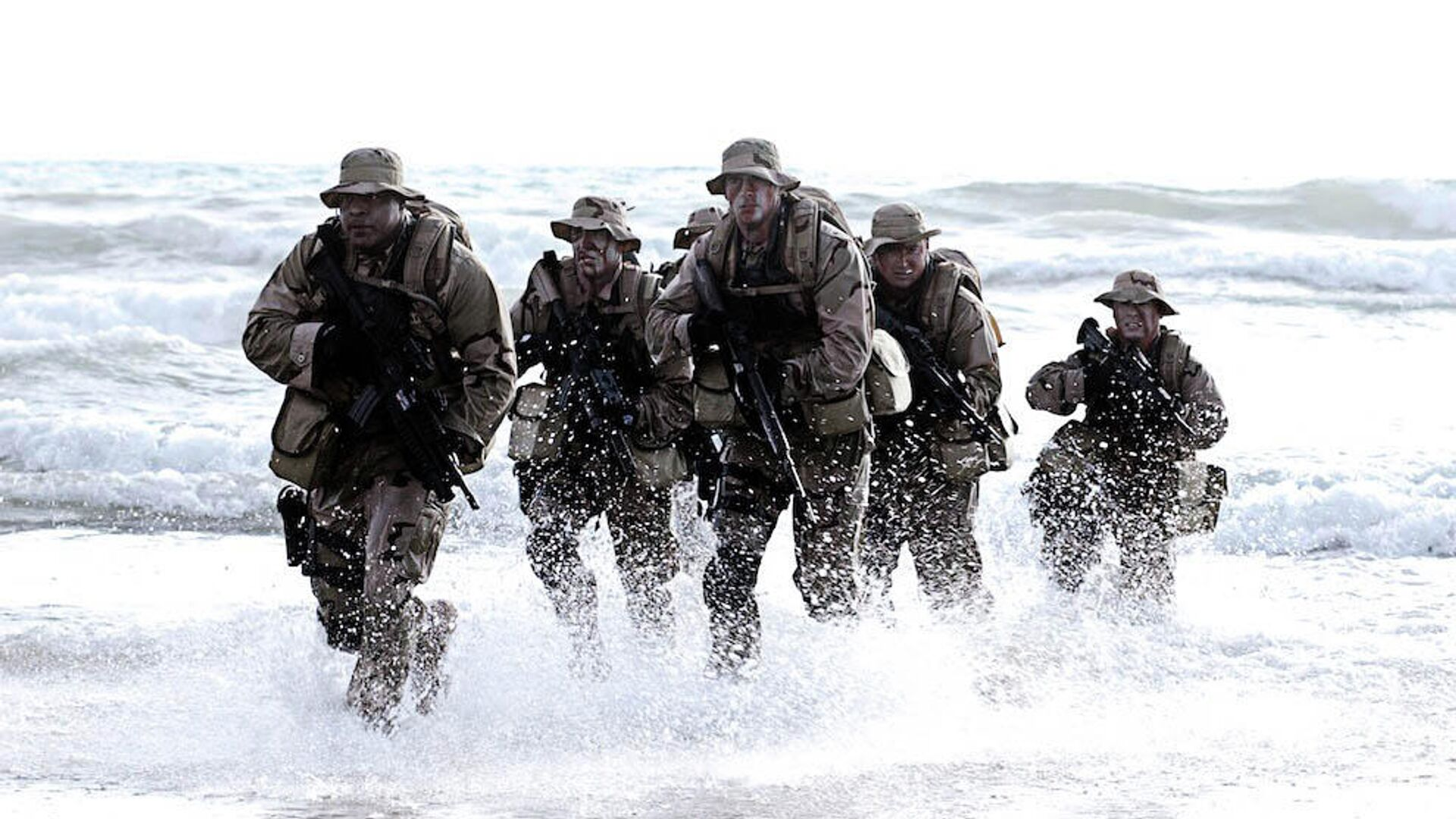 Бойцы спецназа Navy SEAL (США) - РИА Новости, 1920, 21.05.2021