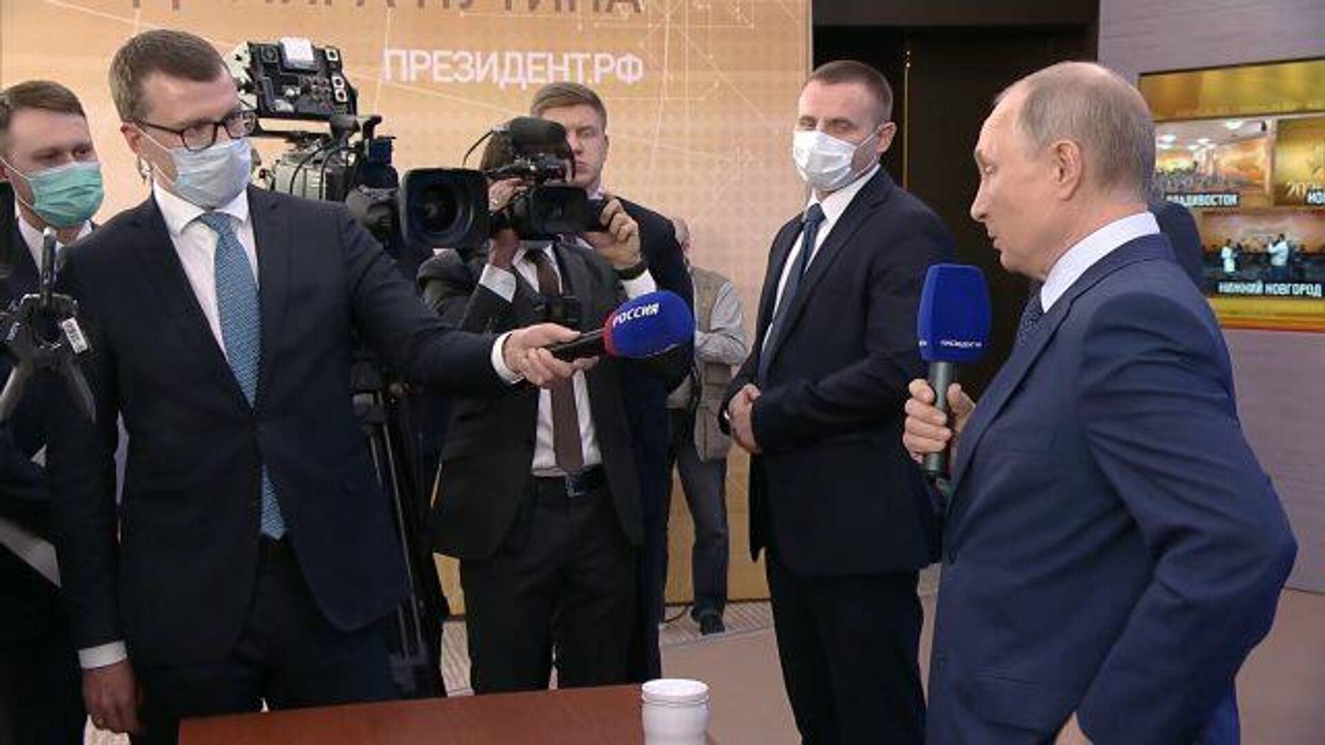 Путин о будущей администрации Байдена: Короля делает свита - РИА Новости, 1920, 17.12.2020