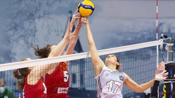 Енисей —Уралочка-НТМК в матче чемпионата России по волейболу