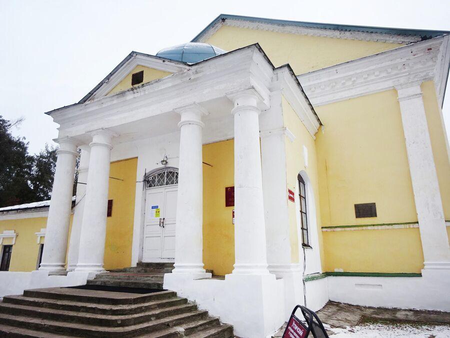 Богоявленский зимний собор в кремле (1827 г.)