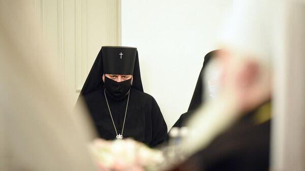 Участник собора ПЦУ в Киеве 15 декабря 2020 года