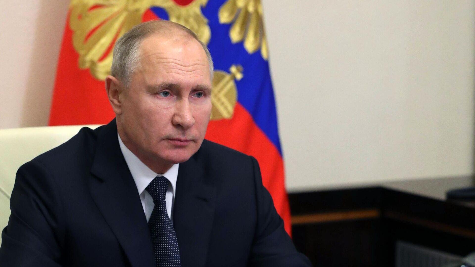 Путин поздравил коллектив института ядерных исследований РАН с юбилеем