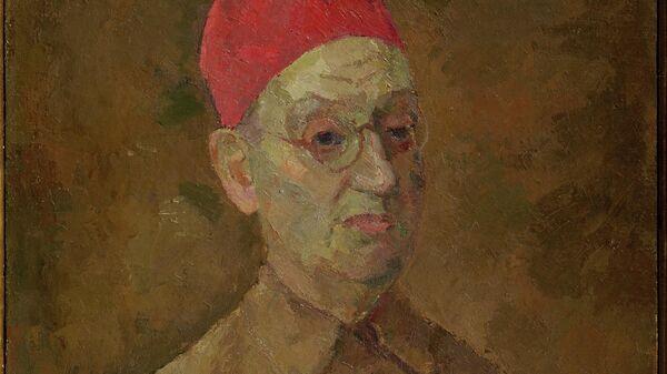 Фальк Р.Р. Автопортрет в красной феске. 1957