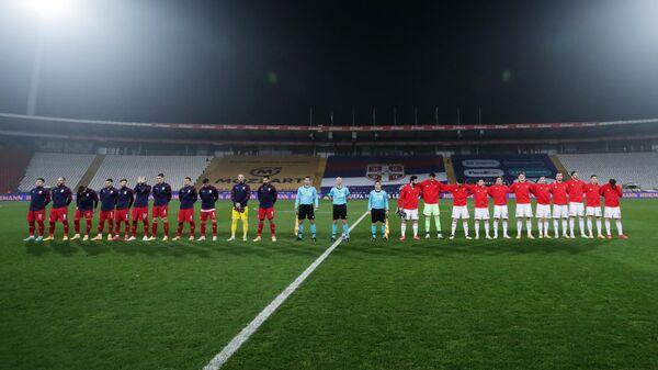 Футбол. Лига наций. Матч Сербия – Россия