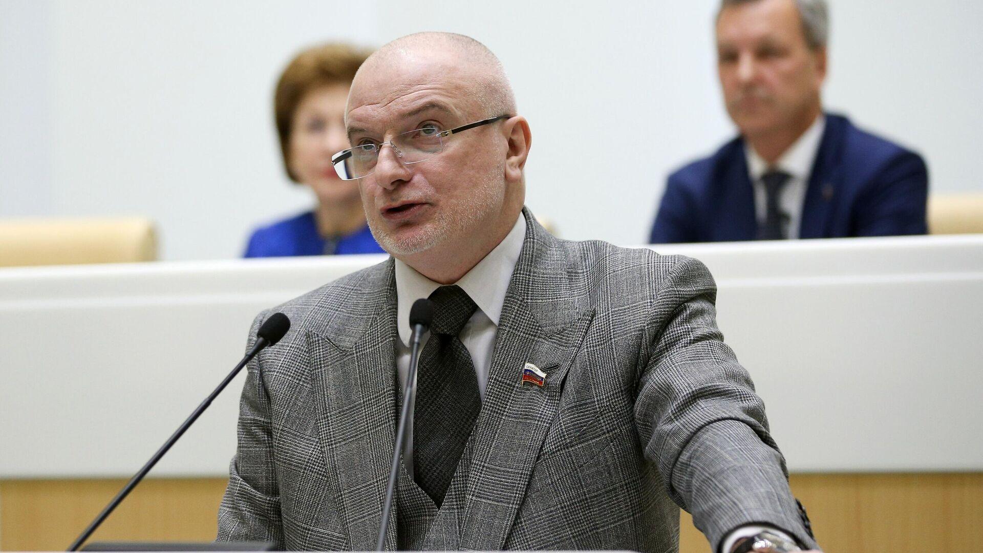 Председатель комитета Совета Федерации по конституционному законодательству и государственному строительству Андрей Клишас  - РИА Новости, 1920, 11.05.2021