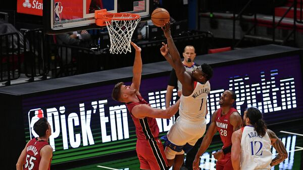 Матч НБА Майами - Нью-Орлеан