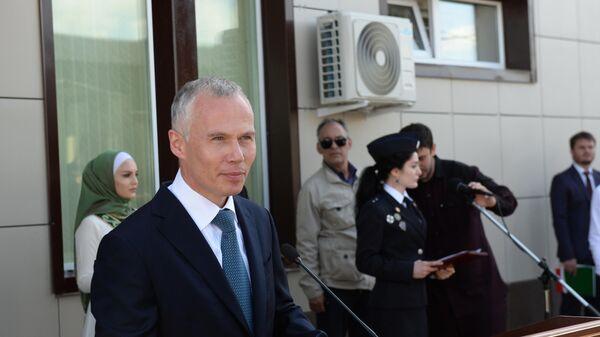 Открытие здания Центра специальной связи и информации ФСО РФ в Грозном