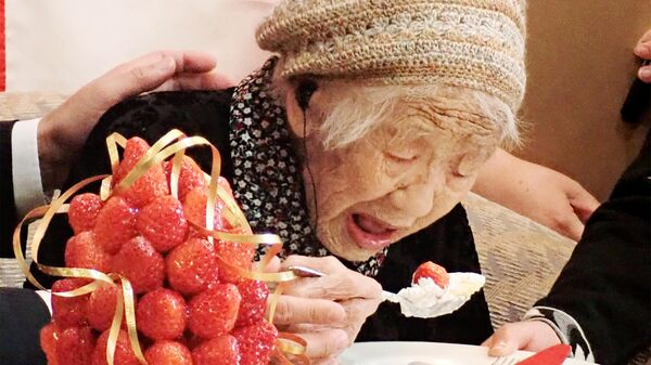 Старейшая жительница Земли японка Канэ Танака