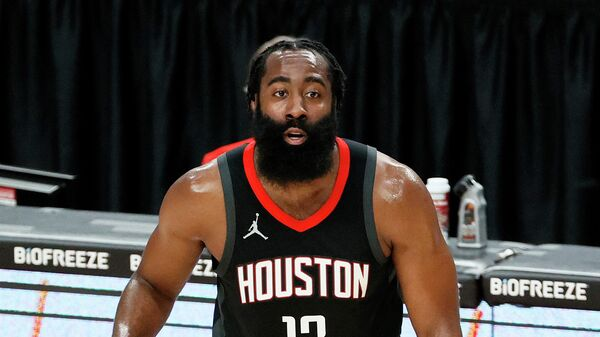 Защитник клуба НБА Хьюстон Джеймс Харден