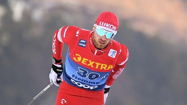 Лыжник Артем Мальцев (Россия)