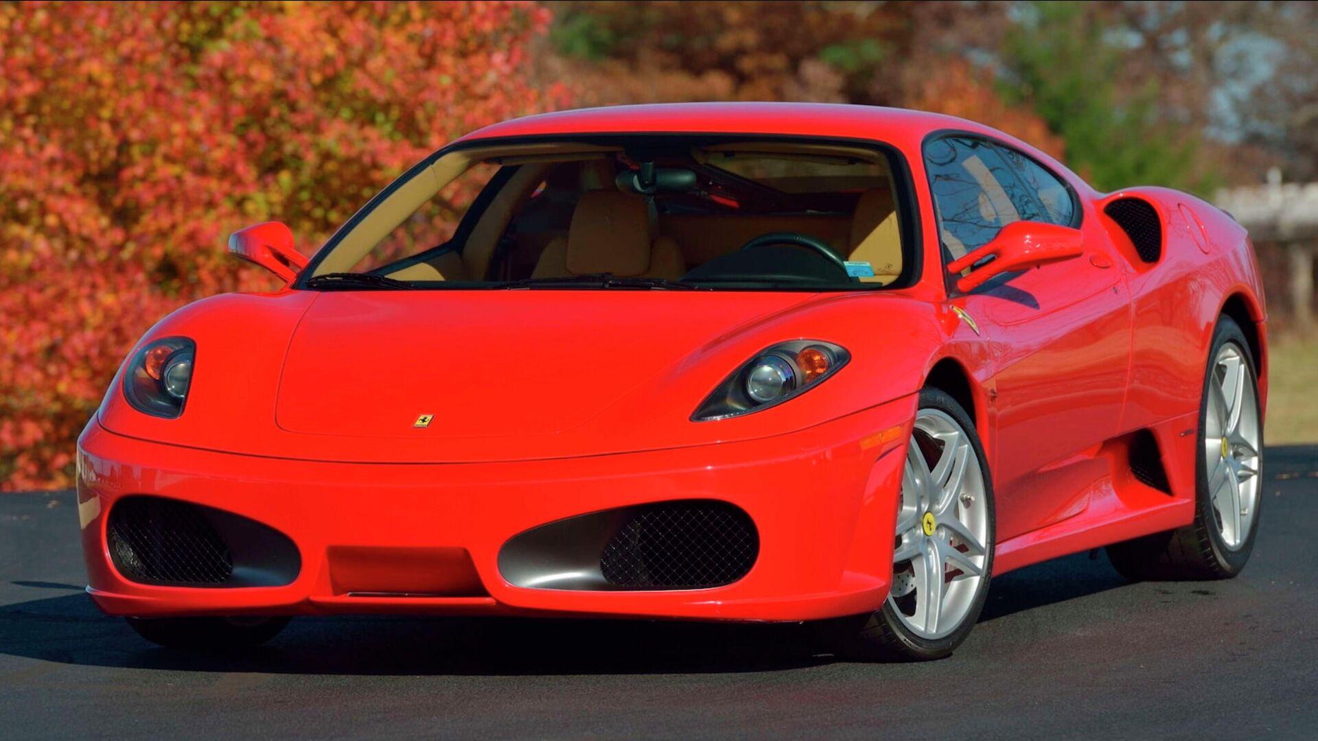 Автомобиль Ferrari F430, принадлежавший Дональду Трампу - РИА Новости, 1920, 06.01.2021
